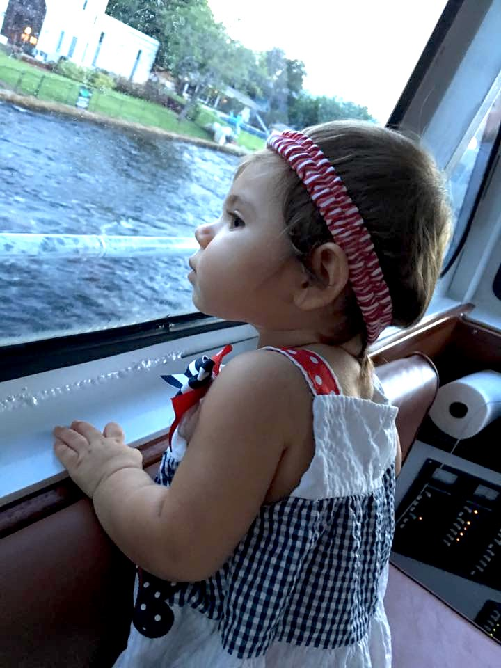 Baby on Intercoastal Cruise