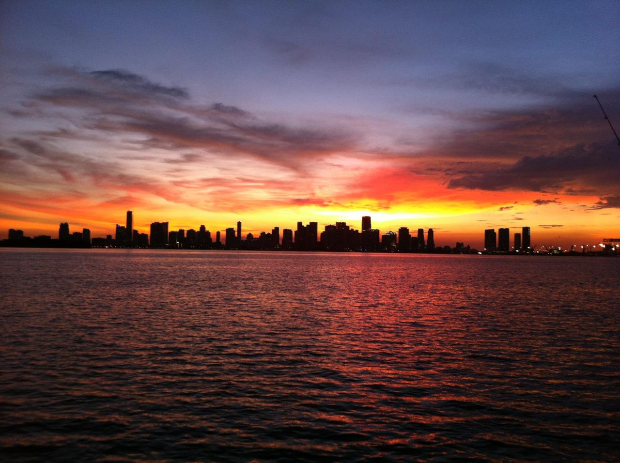 Sunset Fort Lauderdale - Miami